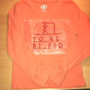 """Route 66 Sz S """"Y O _'R  ST_PID long sleeve t-shirt"""